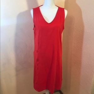 Toad & Co. Red Dress